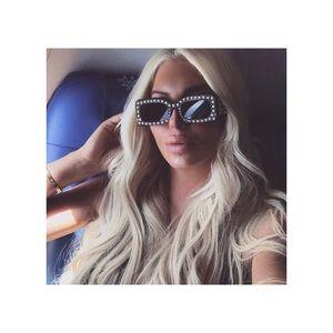 Square Pearl Sunglasses